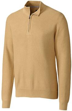 Cutter & Buck Yellow Benson Half-Zip Pullover - Men
