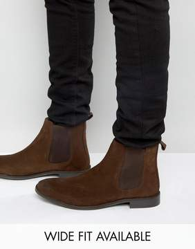 Asos Chelsea Boots in Suede - Wide Fit Available