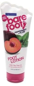 Freeman Bare Foot Softening Foot Lotion Invigorating Peppermint & Plum