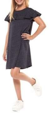 Dex Girl's Ruffled T-Shirt Dress