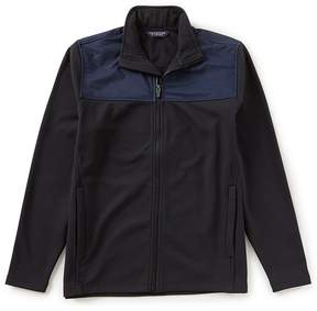Roundtree & Yorke Full Zip Multi Media Sweater