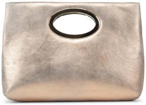 Women's PANDORA - Metallic Soft Leather Clutch
