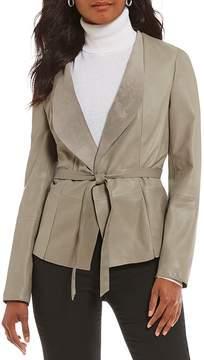 Antonio Melani Sawyer Genuine Leather Jacket