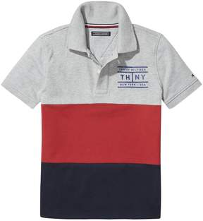 Tommy Hilfiger TH Kids Colorblock Polo