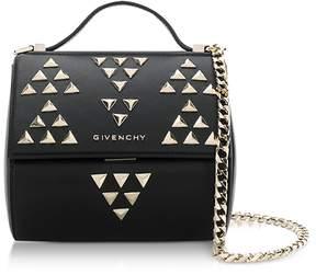 Givenchy Black Pandora Chain Mini Shoulder Bag w/Studs