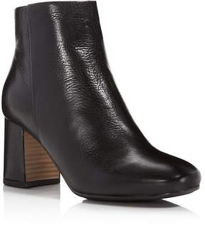 Gentle Souls Troy Leather Block Heel Booties - 100% Exclusive