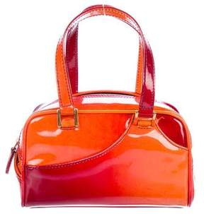 Christian Dior Patent Leather Handle Bag