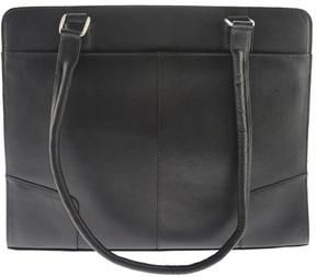 Women's Piel Leather Hardside Shoulder Tote 2770