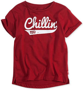 Levi's Chillin' Graphic-Print Cotton T-Shirt, Little Girls (4-6X)