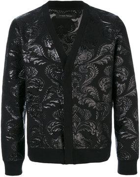 Christian Pellizzari jacquard buttoned cardigan