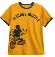 Disney Mickey Mouse Ringer T-Shirt for Men