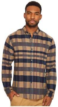 Publish Roderick Multicolor Flannel Button Down Men's Clothing