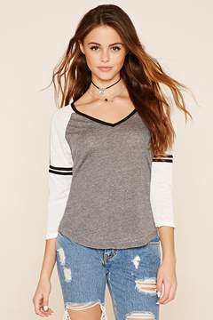 Forever 21 Colorblock Knit Top