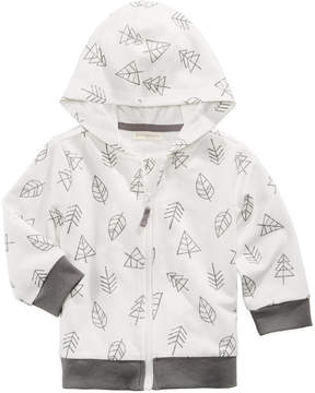 First Impressions Tree-Print Zip-Up Hoodie, Baby Boys (0-24 months), Created for Macy's