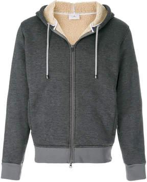 Peuterey sherpa padded zip-up hoodie