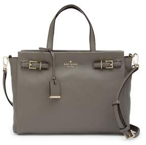 Kate Spade Holden Street Lanie Leather Satchel - BLACK - STYLE