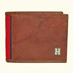 Tommy Hilfiger Men's Leather Huck Traveler Passcase Bifold Wallet