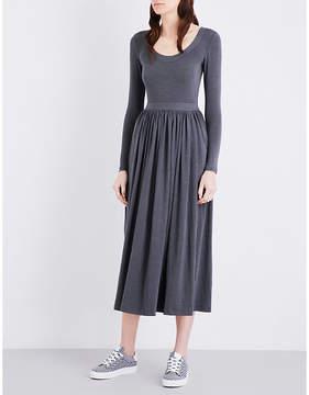 Claudie Pierlot Tale crepe midi dress