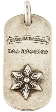 Chrome Hearts Star Dog Tag