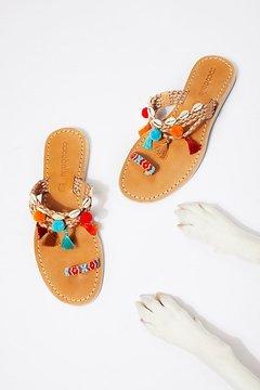 Cocobelle Kopi Embellished Sandal by at Free People