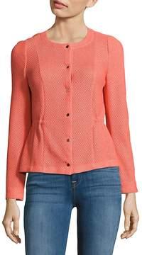 Basler Women's Textured Long-Sleeve Jacket