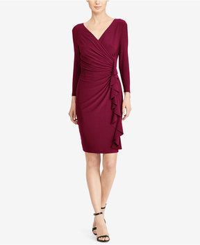 American Living Ruffled Jersey Dress