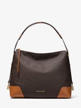 MICHAEL Michael Kors Crosby Large Logo Shoulder Bag