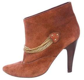 Marc by Marc Jacobs Suede Embellished Ankle Boots