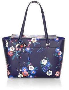 Tory Burch Parker Formal Small Tote - PANSY - STYLE