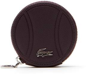 Lacoste Women's Daily Classic Coated Pique Canvas Wallet