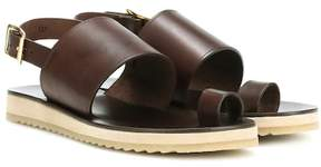 A.P.C. Rome leather sandals