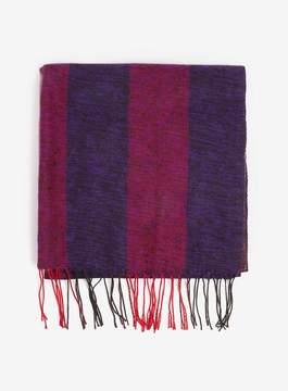 Dorothy Perkins Purple Slub Blocked Blanket Scarf
