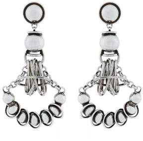 Dannijo Ajax circular pendant earrings