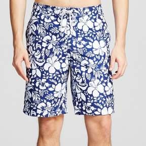 Merona Men's Floral Print Swim Trunks