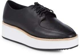 Sol Sana Samantha Leather Platform Oxfords