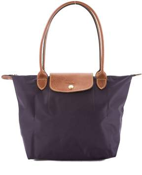 Longchamp Violet Nylon Le Pliage Small Tote Bag (New with Tags) - VIOLET - STYLE