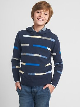 Gap Crazy stripe sweater hoodie