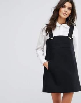 BA&SH Pini Detail Mini Dress