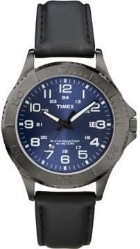 Timex Black Blue Quartz Analog Men's Watch T2P392