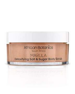 African Botanics Detoxifying Salt & Sugar Body Scrub, 7.0 oz./ 200 mL