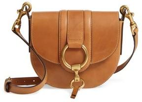 Frye Small Ilana Harness Leather Saddle Bag - Brown