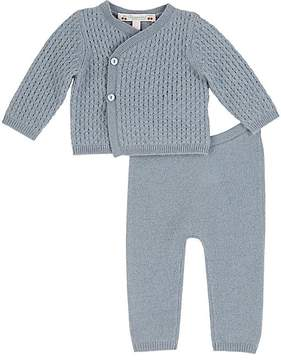 Bonpoint Mixed-Knit Cashmere Sweater & Pants Set