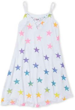Flowers by Zoe Girls 7-16) Crisscross Star Print Dress