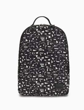Calvin Klein printed soft logo backpack