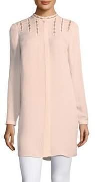 Elie Tahari Chic Silk Tunic