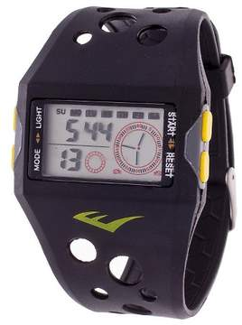 Everlast Accented Plastic Strap and Case Watch - Black