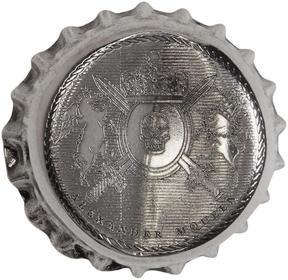 Alexander McQueen Silver Cap Brooch