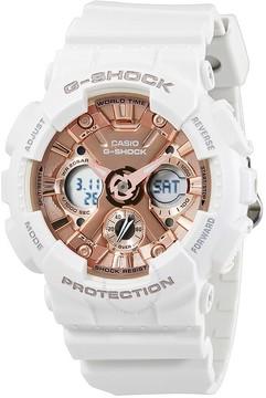 Casio G-Shock S Series Rose Gold Dial Ladies Sports Watch