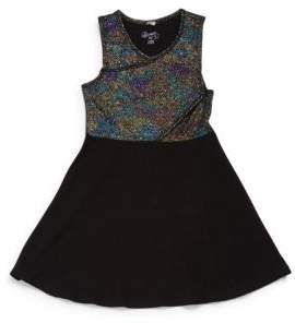 Flowers by Zoe Little Girl's Textured Dress