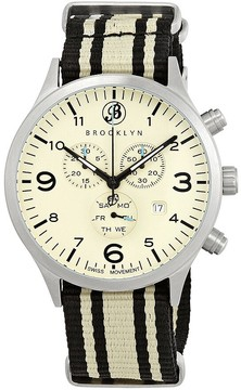 Co Brooklyn Watch Bedford Brownstone Chronograph Men's Watch